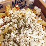 French fries with Feta Cheese