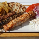 Portion Mixed Souvlaki