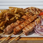 Portion Chicken Souvlaki